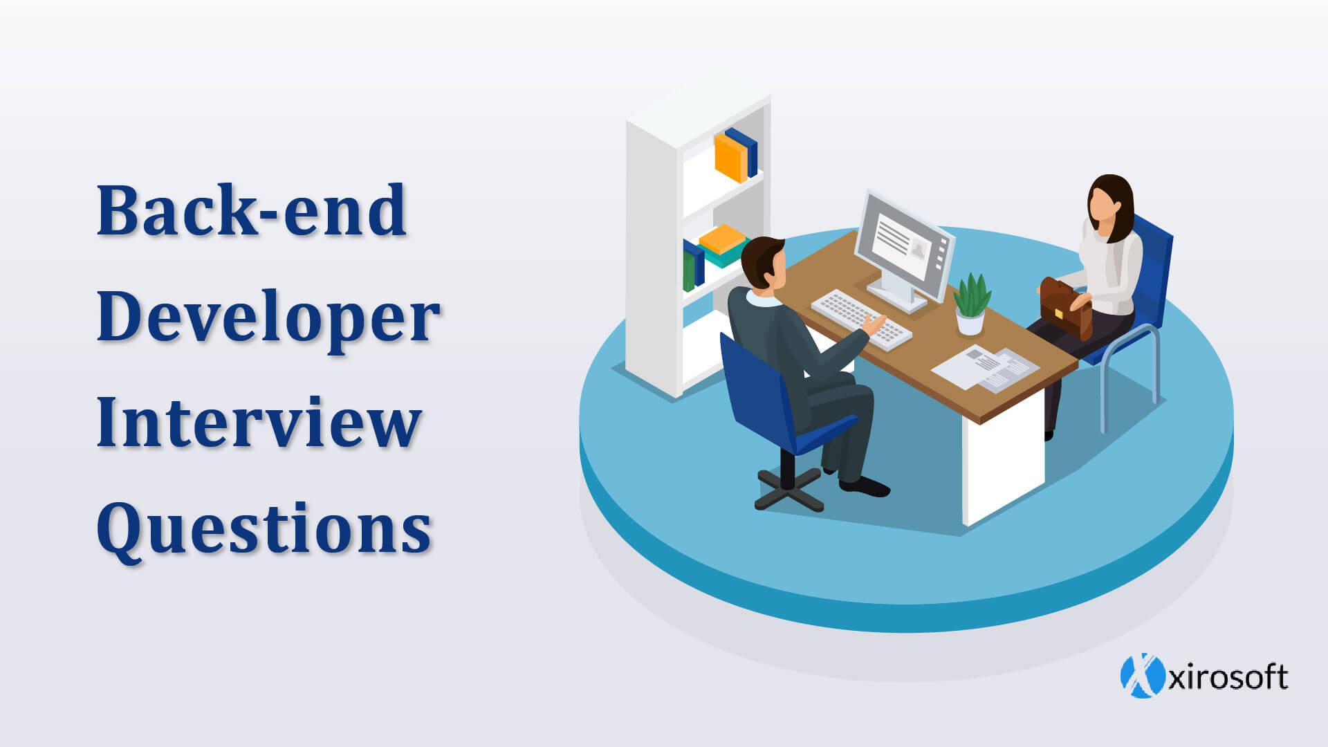 Web Developer Interview Questions Banner Design