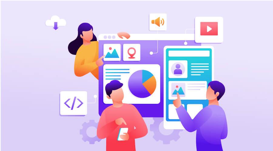 WEBSITE UI UX DESIGN SERVICE